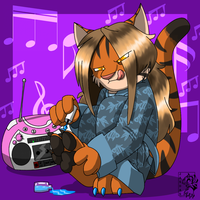 Blind Tiger Commish-kosmosot by Songficcer