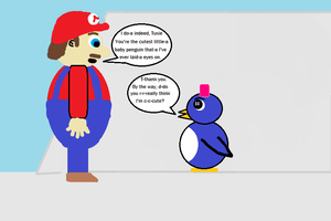 Mario 64 Baby Penguin (in a different light) 9 by CJO1234
