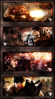 Gears of War Signature Banners by DrManiacal