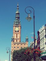 Summertime in Gdansk. by Croiea
