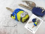 Minion #DespicableME key by SweetIva