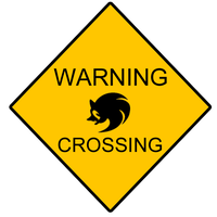 WARNING Sign by Shadowhedge1001