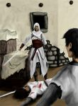 Altair and templars (pic) by Kimmie1997