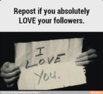 I love My Followers by Strickplayer