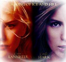 Lannister vs. Stark by princessbibu