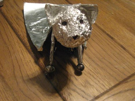 Tin Super Dog by autumndawg