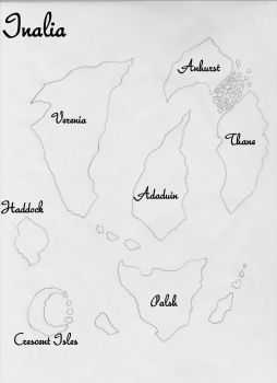 The world of Inalia by paladin4hire