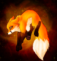 Fire Fox by KaosFox