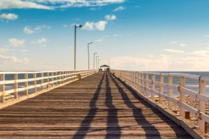 Short Walk on a Long Pier by Gobbliwink