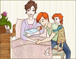 A family of four by ShunSanne