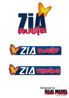 Logos for Zia Music Trading by MadreMedia