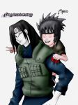 Orochimaru and Anko II by Levithnin