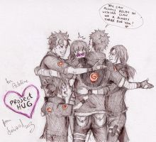 Uchiha hug by Sanzo-Sinclaire