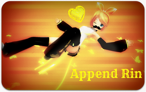 Append Rinnie Wallpaper ~ by BabcinyPasztet