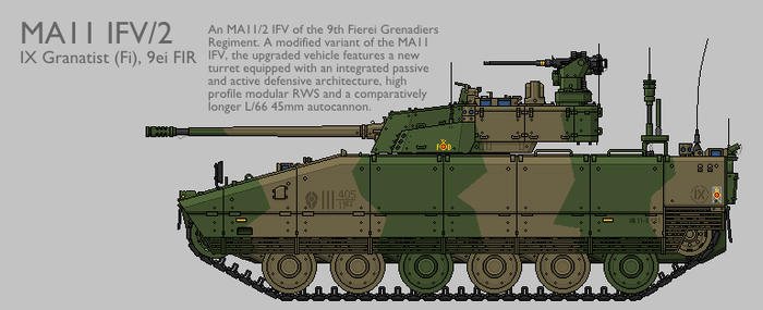 MA11 MAV(T) IFV Production Standard 2 [Coloured] by SixthCircle