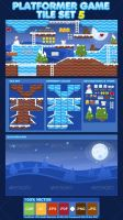 Snowy Winter - Game Tileset by pzUH