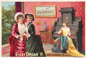 Victorian Advertising - Estey Organ Co. by Yesterdays-Paper