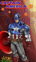 ULTIMATE CAPTAIN AMERICA by WOLVERINE76