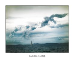 Sailing alone by lejaaaaaaaa