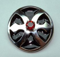 Sterling Domed Pin by Utinni
