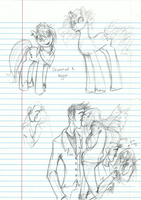 Class Doodles by AugustRaes