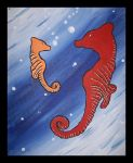 The Seahorses by MammaThatMakes