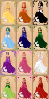 Fairytale Series: The Twelve Dancing Princesses by LadyBladeWarAgnel