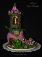 Gingerbread Fairy House by GingerbreadFairy