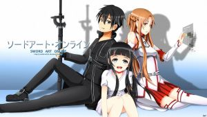 Sword Art Online by Exiled-Artist