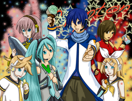 Crypton Vocaloids by ShadowFox777