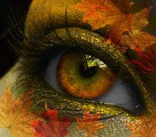 Autumn Eye by EsmeraldEyes