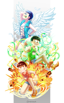 Osomatsu-san 231 by Meoon