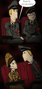 In a theatre by HerHH-Idiot