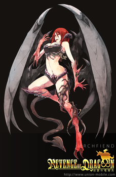 The Archfiend by wickedalucard