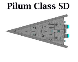 Pilum Class Star Destroyer by Seeras