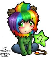leo color by jam-bad