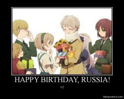Happy Birthday Russia by 0Eve