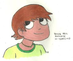 Young Neil by TheSimpsonsFanGirl