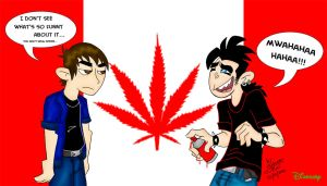 Canabis Canada by Dinogaby