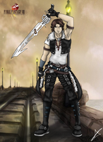 Squall - The Knight of the Witch Final FantasyVIII by AndsportsART