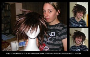 COMMISSION - Sora Wig by Repress-My-Memories