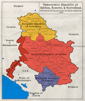 Democratic Republic of Serbia, Kosovo, i Vojvodina by zalezsky