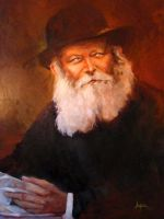 The Lubavitcher Rebbe by SteveJasper