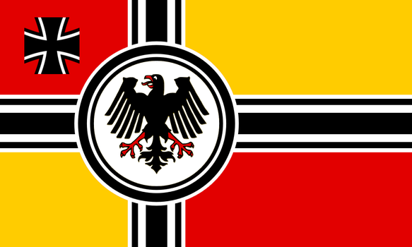 Alternate Seekriegsflagge for the BRD: Version 1 by Linumhortulanus