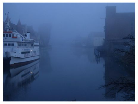 Mist in town by MichalG