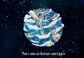 The Land of Steam and Light by TheLittleEngineKid