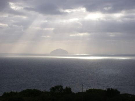 Ailsa Craig by elusive-butterfly