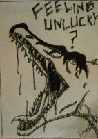 ACEO- Feeling unlucky by Narncolie
