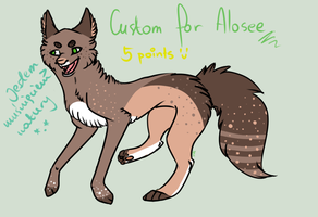 CUSTOM FOR ALOSEE by HungryRainbowEater