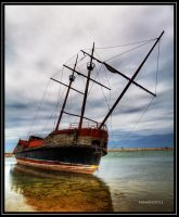 Ship wreck by Leandro2009